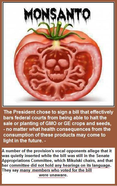 Monsanto protected