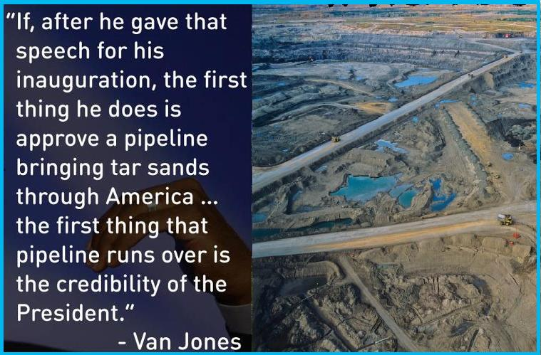 Obama vs Tar Sand