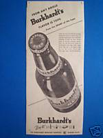 (Burkhardt Ad from 1949 on sale at E-bay 5/22/09)