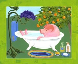 Gardener Pig