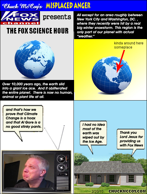 Fox News presents: Science For Dummies -- Climate Change