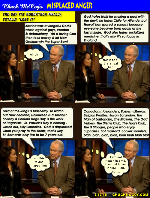 "The Day Pat Robertson ""Lost It"""