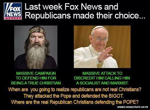 pope-vs-duck-racist